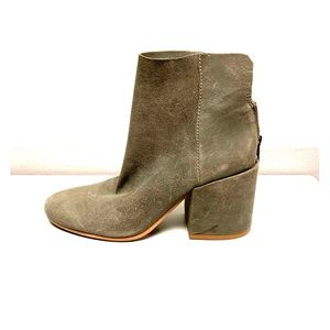 LUCKY BRAND soft suede booties